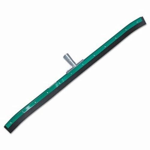"""Heavy Duty Floor Squeegee, 36"""" Blade, Green/Black Rubber, Curved (UNGFP90C)"""