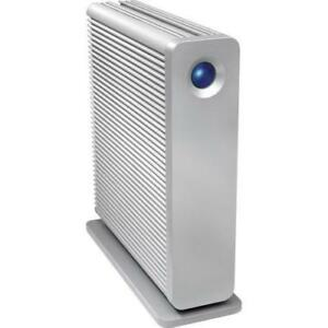 LaCie d2 Quadra V3 4TB External Hard Drive - USB 3.0, (2) FireWire 800, eSATA interfaces