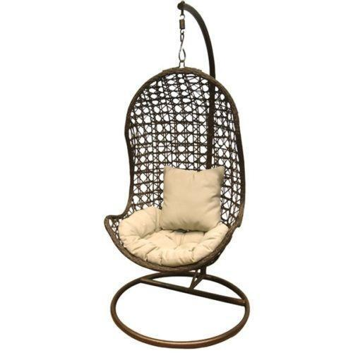 rattan swing chair ebay. Black Bedroom Furniture Sets. Home Design Ideas