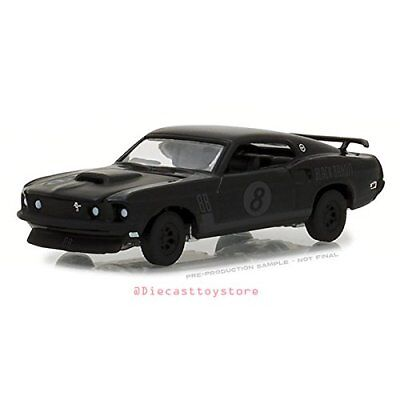 GREENLIGHT BLACK BANDIT 1969 TRANS AM RACKING TEAM FORD MUSTANG 1/64 CAR 27950-B for sale  Shipping to India
