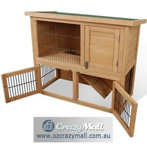 2 Storey Rabbit Hutch House Chicken/Hen Coop Cage Melbourne CBD Melbourne City Preview