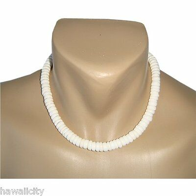 Hawaiian Jewelry Large Puka Shell Necklace from Hawaii 20""