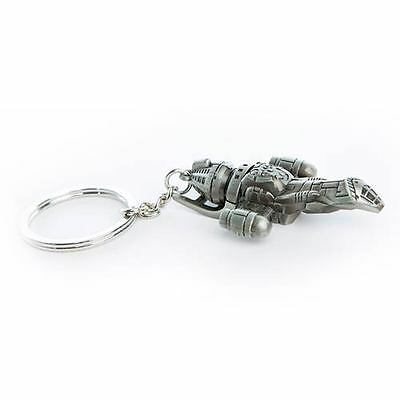 FIREFLY Serenity Official Licensed HD Pewter Space Ship Key Chain