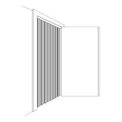 Curtain Door Strip 42x84 Fits Freezer Refrigerator Walkin 23320