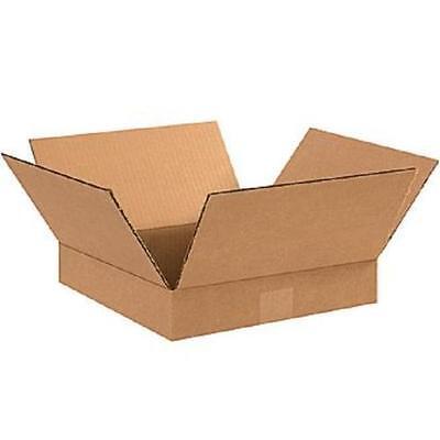 50 7x7x3 Cardboard Shipping Boxes Flat Corrugated Cartons