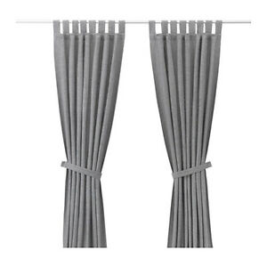 Ikea curtains and rods