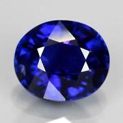 Certified Unheated Blue Sapphire
