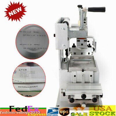 8080mm Manual Logo Pad Printing Machine Kit Pad Printer Sealed Ink Dish System