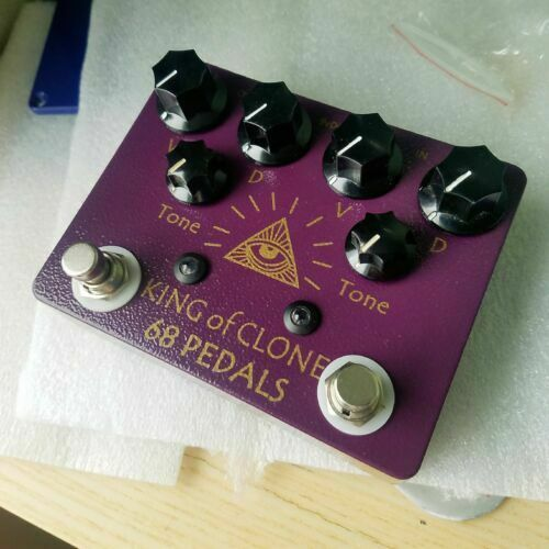 68 pedals King Of Clone Overdrive KOT King Of Tone US