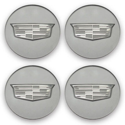 Center Caps Cadillac 9597375 23156594 ATS CTS CT6 XT5 SRX XTS OEM Wheel Set