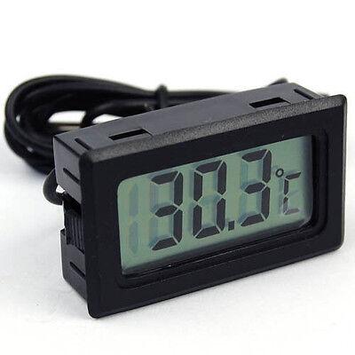 Portable Mini Digital Thermometer Fridge Freezer Temperature Sensor Lcd Display