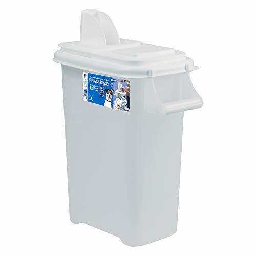 Buddeez Medium  Fresh Dry Dog & Cat Food Plastic Storage Con
