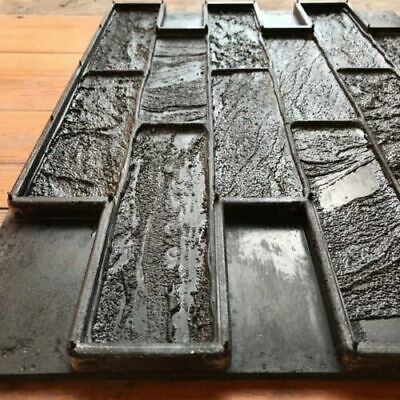 Vertical Rubber Texture Forms Sand Brick Decorative Printing Concrete Gypsum