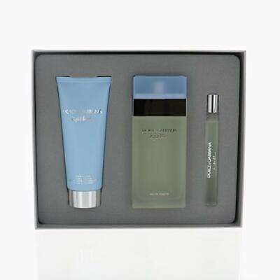 D&G Light Blue Pc Gift Set With 3.4 Oz By Dolce & Gabbana For Women
