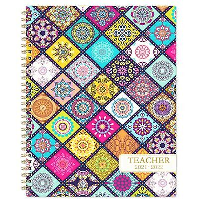 Teacher Planner 2021-2022 - Weekly Monthly Lesson Plan Book With Flexible