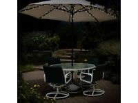 60 LED Solar Parasol Chain Light - Brand New - Kilmarnock Area