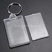 Blank Photo Keychain