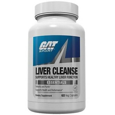 Gat Liver Cleanse Detoxify Purify Pct Detox   60 Capsules   On Cycle Support