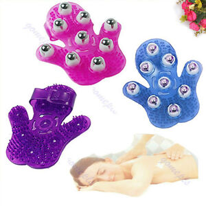 Body-Care-Hand-hold-Roller-Rolling-Joint-Glove-Massager