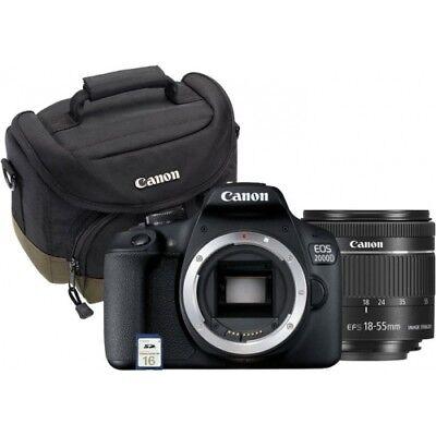 Canon EOS 2000D Value Kit EF-S 18-55mm 2728C013 digitale Spiegelreflexkamera