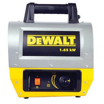 DEWALT DHX165 1.65 kW 5,630 BTU Electric Portable Heater F340635 New