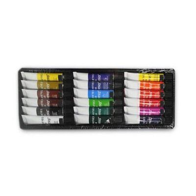 2 Pack Paints (2-pack 18 Pcs Oil Paint Set Professional Artist Paints Painting Pigment 36)
