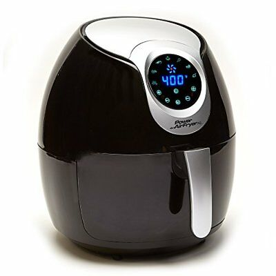 New 5.3 Quart Power AirFryer XL Super Heated Air Fryer with