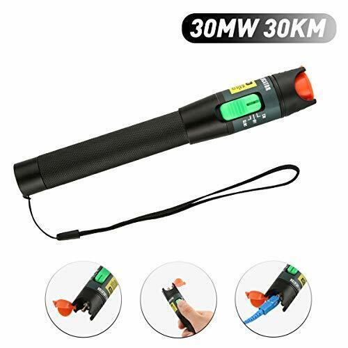 Visual Fault Locator, 30Mw 30Km Vfl Pen Fiber Optic Cable Tester Aluminum New