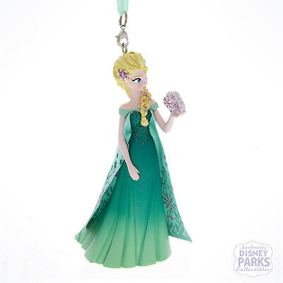 Disney Parks Frozen Fever Queen Elsa Christmas Ornament - Queen Elsa Frozen Fever