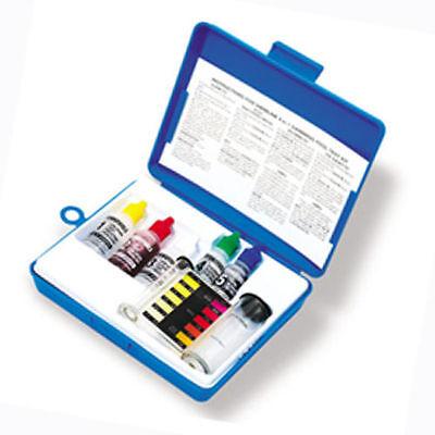 4-IN-1 Swimming Pool Test Kit Swimming Chlorine pH Free Total Alkalinity 8440