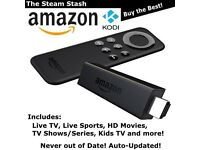 Amazon Fire TV Stick - Kodi 16.1 Fully Loaded! Movies Live Sports TV Shows HD