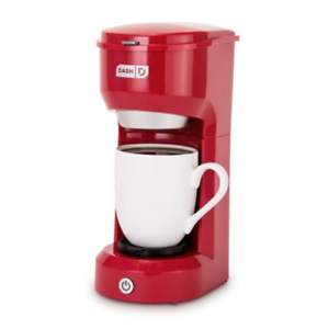Dash Dpc100rd Single Cup Drip Coffee Maker Red For Sale Online Ebay