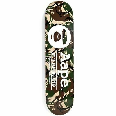 NEW BAPE Aape by A Bathing Ape Green Camo Nigo Skateboard Deck Sealed