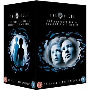 the x files complete series collection 55 disc dvd box set r4 new sealed. Black Bedroom Furniture Sets. Home Design Ideas