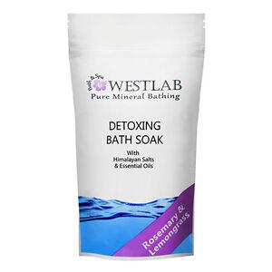 Westlab Himalayan Salt Detoxing Bath Soak - 500g