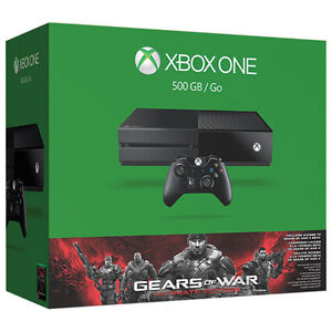 BRAND NEW - XBOX ONE- 500GB Gears Of War Ultimate Edition Bundle