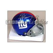 New York Giants Signed Helmet