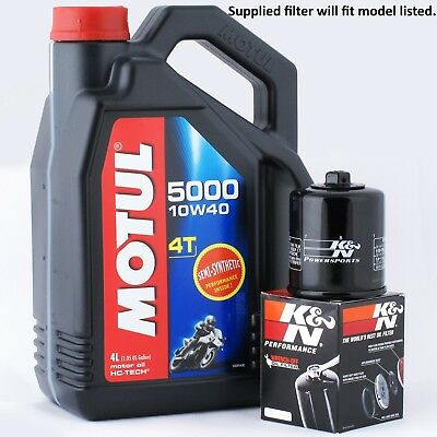 <em>VICTORY</em> 1731 <em>CROSS COUNTRY TOUR</em> 2012 KN FILTER AND MOTUL 5000 OIL KIT