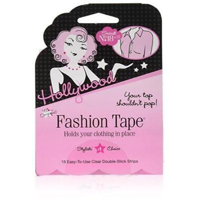 Hollywood Fashion Secrets Double sided fashion tape, 18 ct