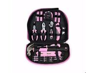 *AS NEW* WORKPRO 103-Piece Pink Tool Kit Set Just £10 RRP £34.99