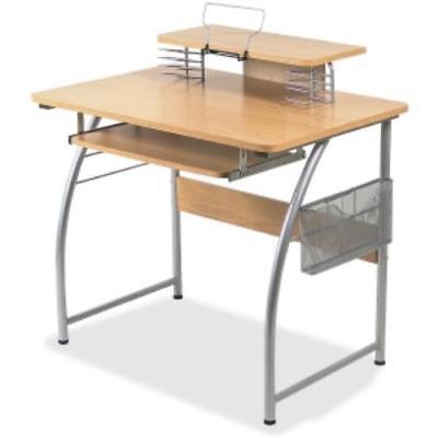 Lorell Upper Shelf Laminate Computer Desk - Rectangle - 23.60 X Llr14337