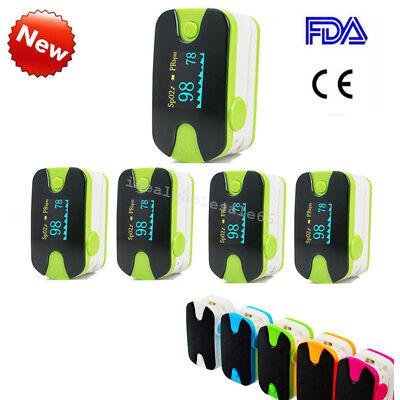 5X Medical Fingertip Pulse Oximeter Blood Oxygen Spo2 Pr Monitor Oled Us Ship Ce