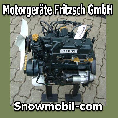 Diesel Motor Kubota D1005 25PS 1001ccm gebraucht  - Kubota Diesel Motor