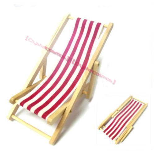 Miniature Red Rocking Chair ~ Miniature beach chair ebay