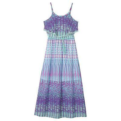 IZ Amy Byer Mock-Layer Chiffon Maxi Dress with Belt - Girls - Girls Dressy Dresses 7 16