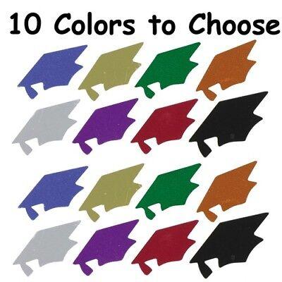 Graduation Grad Cap Confetti- 10 Colors to Choose - $1.81 per 1/2 oz. FREE SHIP - Graduation Confetti
