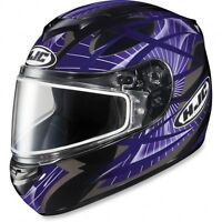 HJC CS-R2 EC STORM (MC-11)Helmet Purple/Casque de moto Violet