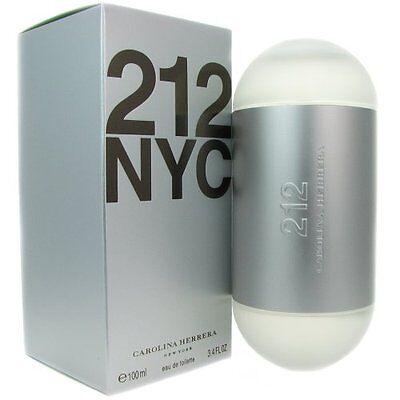 212 by Carolina Herrera * Perfume for Women * 3.4 oz * BRAND NEW IN RETAIL -