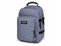 EASTPAK provider Backpack / rucksack gingham blue 33 l / 33 litre for laptop / ipad / apple mac