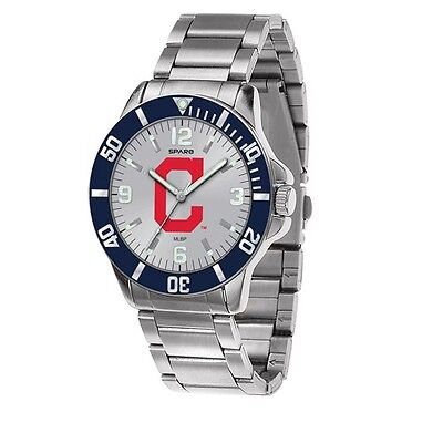 MLB Cleveland Indians Sparo Key Mens Watch  Style# XWM2486  $58.90